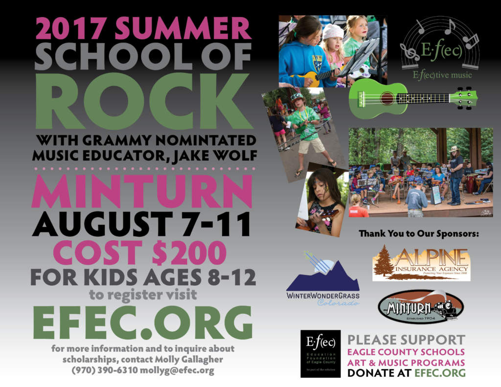 Summer School of Rock Music Camp