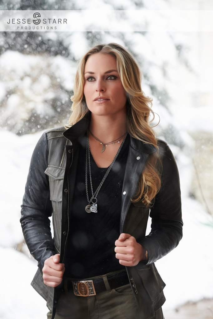 photographing lindsey vonn for her new book  strong is the