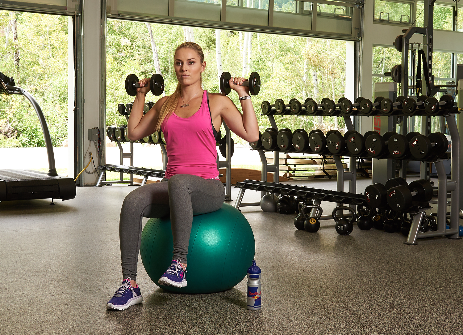 Photographing Lindsey Vonn for her new book, Strong is the ...