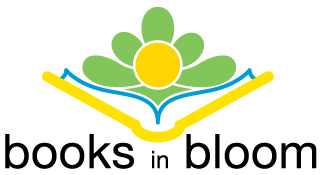 Books in Bloom Logo