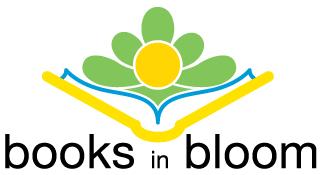 Books in Bloom Logo
