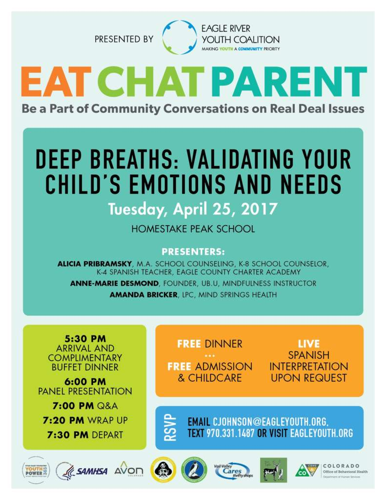 Eat Chat Parent | VVP Events Calendar