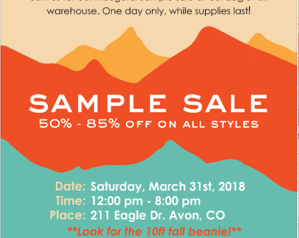 Cirque Sample Sale