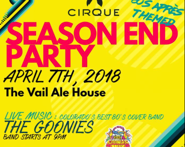 Cirque Season End Party