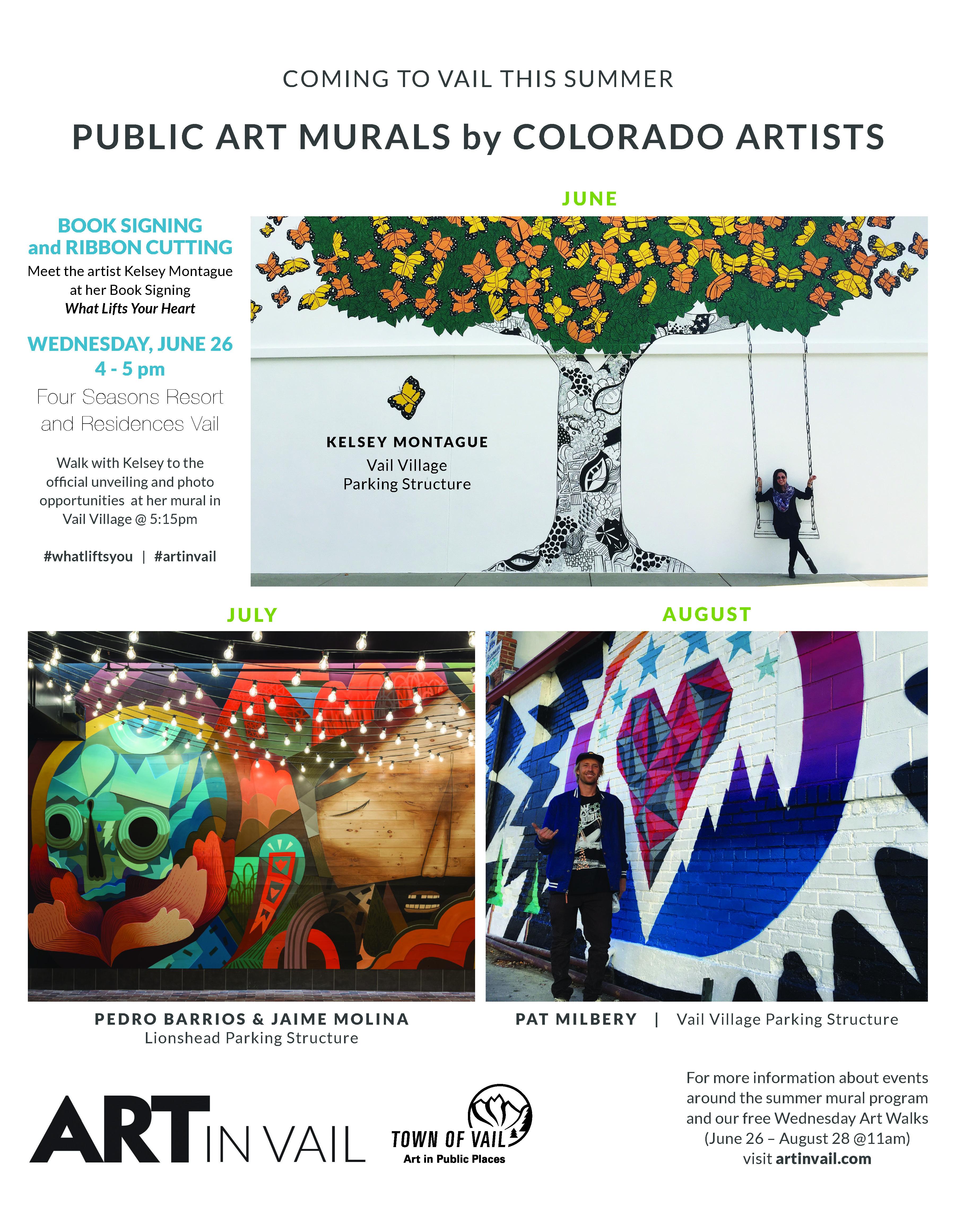 Summer Mural Installations & Programs | Vail Valley Partnership