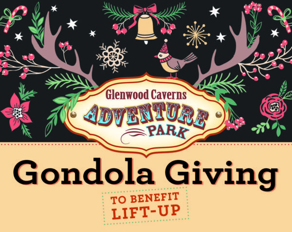 Gondola Giving at Glenwood Caverns Adventure Park