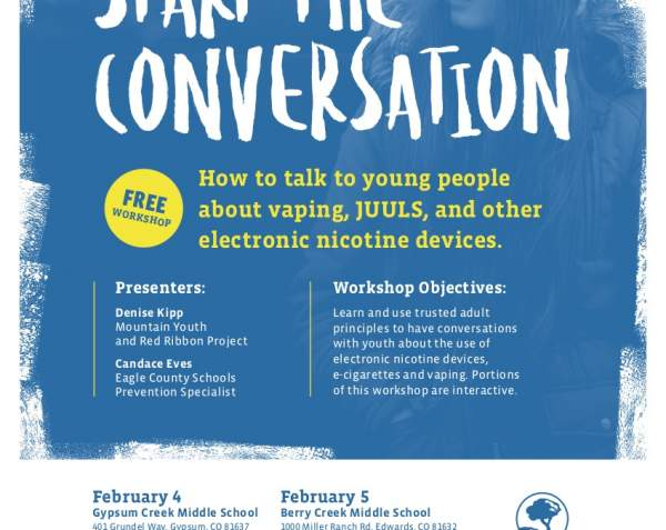 How to talk to youth about vaping