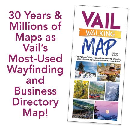 Vail Walking Map 2022